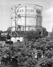 Photo. ca 1921. Concord, New Hampshire.  Gas Storage Tank