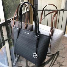 Michael Kors Women PVC Leather Handbag Shoulder Bags Tote Purse Leather Bag Hobo
