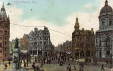 HULL - Victoria Square - 1905 Original Postcard (30P)