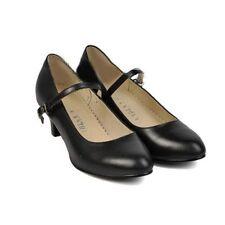 Block Heel Mary Janes Standard Width (B) Shoes for Women