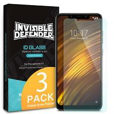 For Xiaomi Pocophone F1 | Ringke ID Tempered Glass Clear Screen Protector [3pcs]