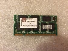 Memoria Sodimm DDR Kingston KTM-TP9828/1G 1GB PC2700 333MHz CL2.5 200-Pin