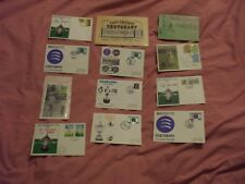 JOBLOT OF 1970s CRICKET COVERS ETC.-  PLUS 1966 GARY SOBERS SIGNED CARD
