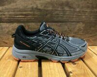 ASICS Gel-Venture 6 Wide (4E) Frost Grey Phantom Black Men's Trail Running Shoes