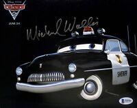 Michael Wallis Cars Sheriff Authentic Signed 8x10 Photo Autographed BAS #F09505