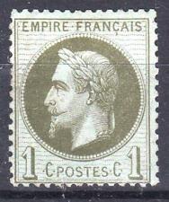 "FRANCE  STAMP TIMBRE 25 "" NAPOLEON  III 1c BRONZE 1870 "" NEUF xx TB  P125"