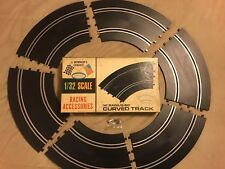 Aurora 1/32 Scale Slot Car Track #3214 lot of 6 Vintage Box Included