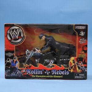 Undertaker - WWE Jakks Rollin' Rebels - Motorcycle Figure Vintage Wrestling WWF
