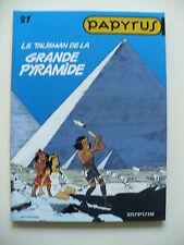 EO 1998 (très bel état) - Papyrus 21 (le talisman de la Grande Pyramide)