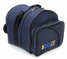 KAZE SPORTS 1 Ball Bowling Bag Add On Tote Spare Kit Single DENIM JEANS One