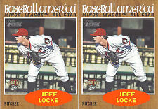 2011 Topps Baseball America Minor League All-Star Jeff Locke 218 Altuna Curve x2