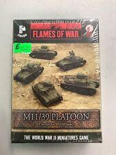 M11/39 Platoon - Italian - FOW Flames of War - IBX05 - NIB