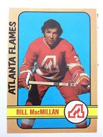 1972-73 Bill MacMillan Atlanta Flames 98 OPC O-Pee-Chee Hockey Card P084