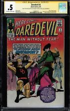 DAREDEVIL #5 CGC .5 OWW SS STAN LEE SIGNED 1ST APP OF THE MATADOR #1508461011