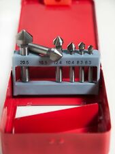 Juego de avellanadores HSS 6 piezas 6,3 - 20,6 mm