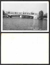 Old Canada Real Photo Postcard - Buckhorn, Ontario - Mississauga Bridge