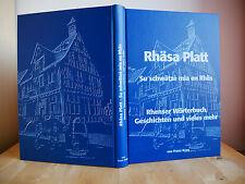 Rhenser Mundart - Wörterbuch, Geschichten und vieles mehr von Franz Kron, Rhens