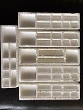 Original Axis & Allies 1987 WWII Replacement 6 Styrofoam Trays