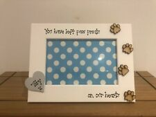Personalised Dog Cat Photo Frame Memorial Bereavement Remembrance 5x7