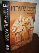 1st/1st Edition POETRY AFTER AUSCHWITZ Gubar POETRY Poems RARE Classic