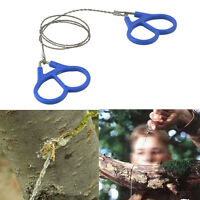 Stainless Steel Hiking Camping Climbing Wire Saw Emergency Travel Survival Gear