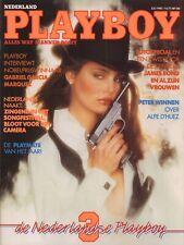 Dutch Playboy Magazine 1983-07 Charlotte Kemp, Cecilia de la Rie ...