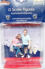 Scenecraft # 184 G 1:22.5 scale Seated Couple ( Young Man and Woman ) Figures