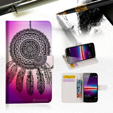 Dream Catcher Wallet TPU Case Cover For HUAWEI Y6 Elite 4G Phone Case -- A027