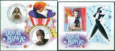 David Bowie In Memoriam Great Britain Music MNH stamp set