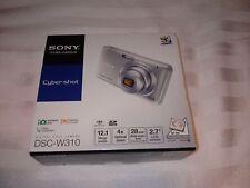Sony Cyber-shot DSC-W310 12.1MP Digital Camera - Silver