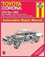 Toyota Corona, 1974-82 (Haynes Manuals)-ExLibrary