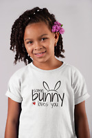 Youth Toddler Some Bunny Loves You #2 T Shirt Easter Print T-Shirt Gift Rabbit