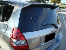 UN-PAINTED Fits HONDA FIT 5DR 2004-2008 MODELS REAR HATCH ABS SPOILER WING NEW