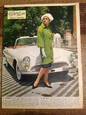 AUTO UNION 1000 Spider & Pin-Up 1963