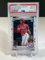 PSA 10 Bayron Lora 2020 Bowman Chrome Prospects 1st Bowman #BCP52 Gem Mint