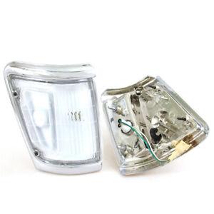 88-97 FIT TOYOTA HILUX 4x4 LN111 LN106 N105 107 CLEAR LEN CORNER LIGHT WIRE BULB