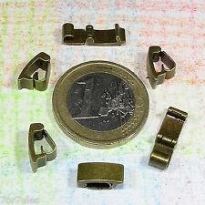 15 Recambios Cierres 10mm T596C Cobre Findings Clasps Lock Armband Sluiting