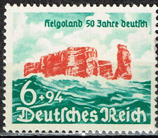 Germany WW2 Heligoland Islands Return 50 Ann stamp 1940 MLH