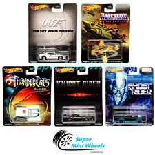 Hot Wheels Premium 2020 Retro Entertainment Q Case Set of 5 Cars