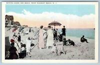 POINT PLEASANT BEACH NEW JERSEY*NJ*BATHING SCENE & BEACH*1910-1920 ERA*POSTCARD