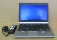 "HP Elitebook 2570p 12.5"" HD i5-3320M 2.6Ghz 4GB Ram 320GB HDD Win10 Pro Laptop"