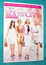 SEX AND THE CITY MOVIE DVD  - Jessica Parker - LIKE NEW - ONLY USED ONCE