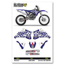 2006-2009 YAMAHA YZF 250-450 Dirt Bike Graphics kit Motocross Graphics Decal