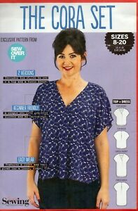 Simply Sewing Pattern for The Cora Set Top & Tunic Dress, Sizes 8-20, New EASY