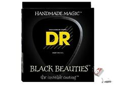DR BKE-12 Extra Heavy Black Beauties Coated Electric Guitar Strings 12-52