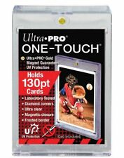 (5-Pack) Ultra Pro One Touch Magnetic Card Holder 130pt w/ UV Protect Xtra Thick