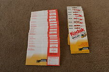 Lot of Vintage KODAK PK36 Prepaid Processing Mailers