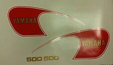 YAMAHA SR500  MODEL FULL PAINTWORK DECAL KIT