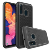 2 in 1 Hybrid TPU Shockproof Case Back Cover For Samsung Galaxy A10e A20 A30 A50