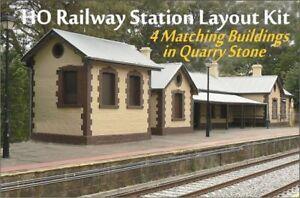 HO Scale Australian FEDERATION RAILWAY STATION BUILDINGS